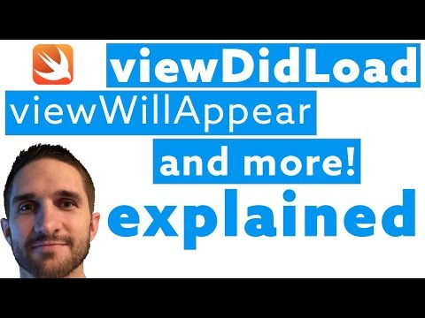 ViewDidLoad, ViewWillAppear, and more! Explained in Swift | iOS UIViewController Lifecycle Methods thumbnail