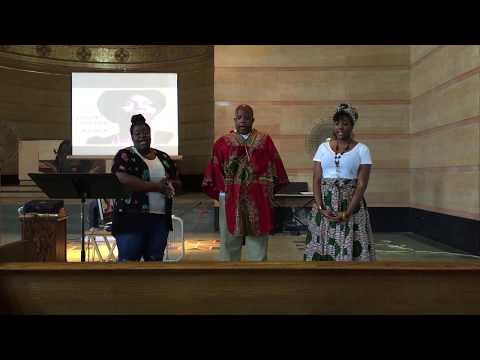 Young, Gifted, & Black acappella Cover: King David, Miss Walker, & Miss Jones