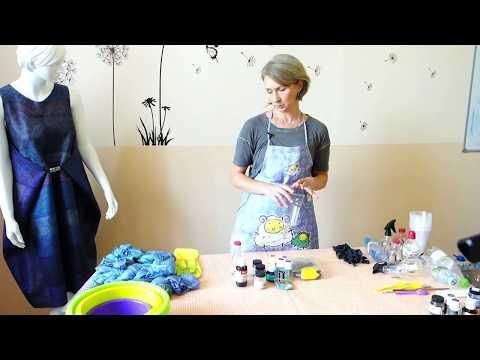 Как покрасить шелковую блузку в домашних условиях