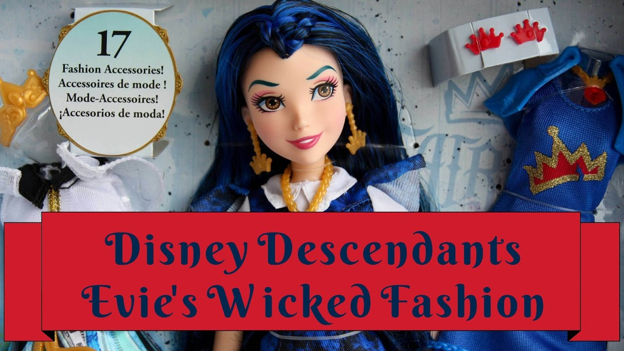Dolls, Clothing & Accessories Dolls & Bears Evie The Latest Fashion Disney Descendants Doll