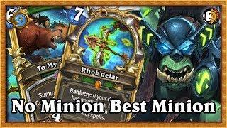 Hearthstone: Legend No Minion Hunter Is Good
