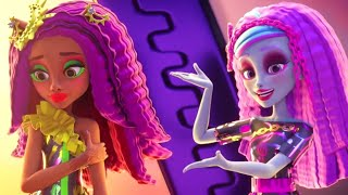 Monster High™ 💜⚡️Monster Makeovers | Electrified | Cartoons for Kids