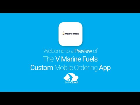V Marine Fuels - Mobile App Preview VMA265W