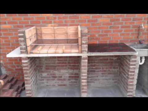 Building a brick BBQ