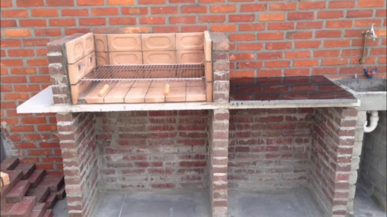 building a brick bbq youtube