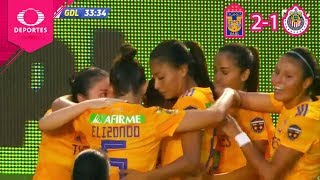 Resumen | Tigres 2 - 1 Chivas | Ap 2019 - J1 - Liga Mx Femenil | Televisa Deportes