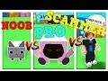NOOB vs PRO vs SCAMMER - ROBLOX PET SIMULATOR VERSION!