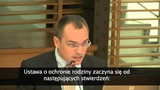 Prawnicy w obronie Życia - Międzynarodowa, prawnicza konferencja naukowa
