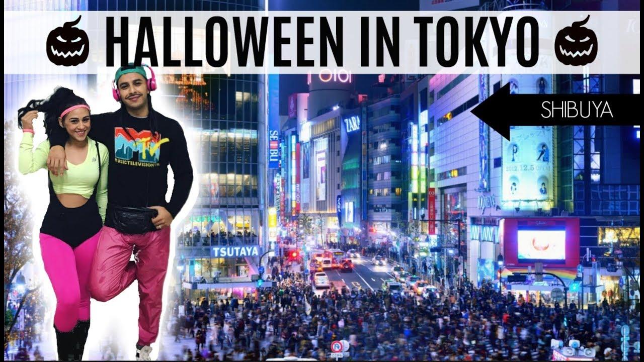 Download HALLOWEEN WEEKEND IN TOKYO JAPAN 🎃  | SHIBUYA