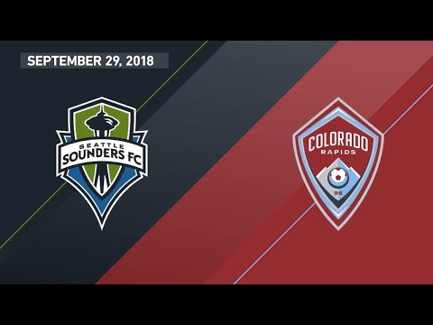 HIGHLIGHTS: Seattle Sounders FC vs. Colorado Rapids | September 29, 2018