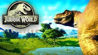 Jurassic World Evolution #38 | Ein T-Rex Gehege | Gameplay German Deutsch thumbnail