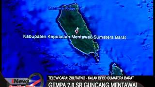 BREAKING NEWS !! Gempa 7,8 SR Mentawai Berpotensi Tsunami Masyarakat Panik