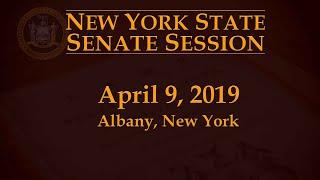NYS Senate Session - 4/9/19