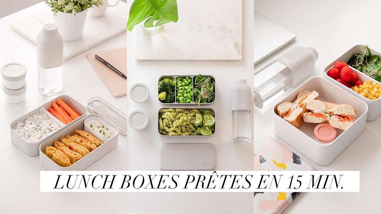 Download 3 LUNCH BOXES PRÊTES EN MOINS DE 15 MINUTES  | Alice Esmeralda