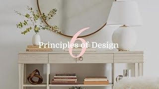 6 Principles Of Interior Design