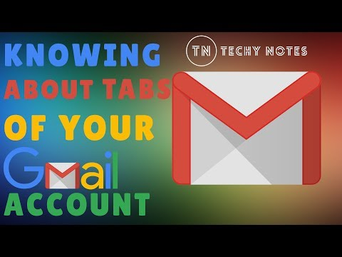 What Is Primary, Social, Promotion, Updates And Forums Tab In Gmail - Techy Notes