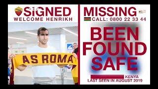 AS Roma : des avis de recherche efficaces jusqu'au Kenya l BBC Sport Afrique - 29 octobre 2019