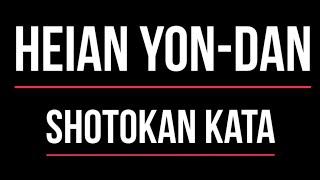 Shotokan Kata - Heian Yondan