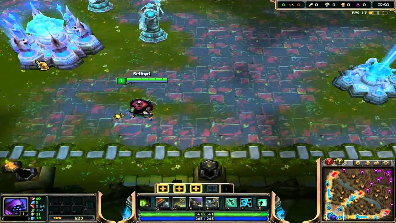 league of legends how to fix fps lag