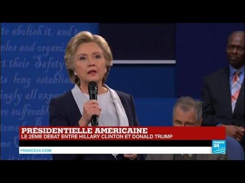 """Hillary Clinton : """"Donald Trump a insulté les femmes, les immigrés, les noirs, les latinos"""""""