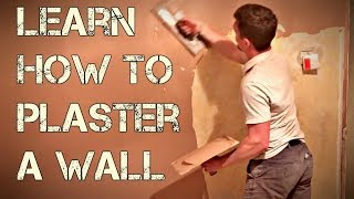 How To Plaster A Wall - Plastering For Beginners