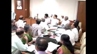 Harippad Medical college - Meeting with Oommen Chandy Kerala Chief Minister