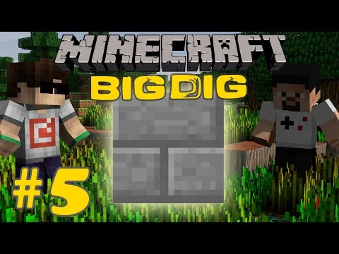 Minecraft: Big Dig #5 - FABRİKA!