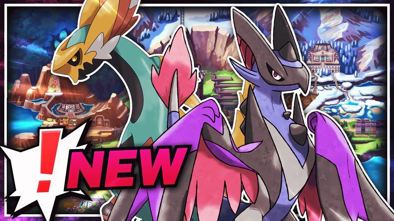 Massive New Sword And Shield Leak Legendary Horse Dragon