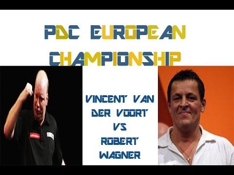 PDC European Championship 2014 - First Round - Van der Voort VS Wagner - Final Legs
