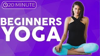 20 minute Yin Yoga for Beginners 💙 MELT stress with easy yoga for relaxation