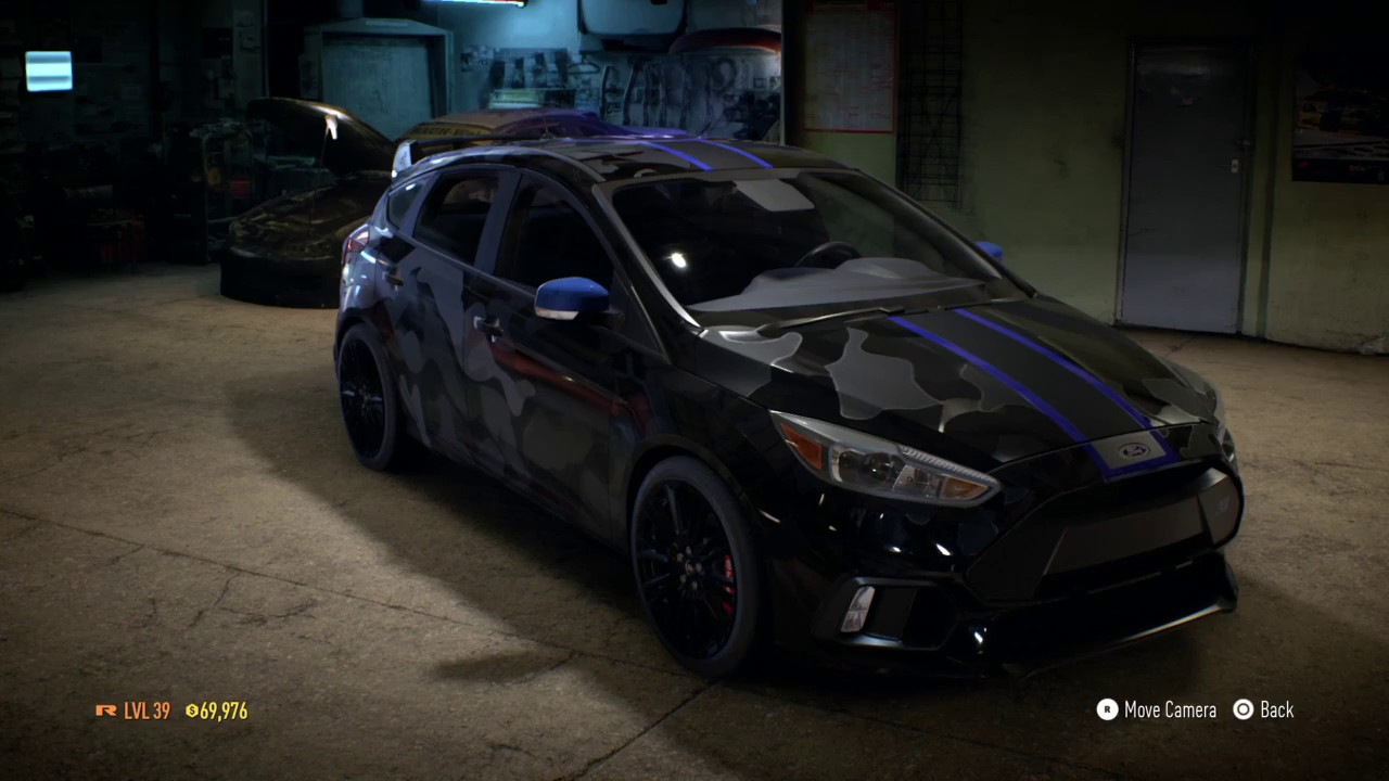 need for speed i stole jake paul s car ford focus rs. Black Bedroom Furniture Sets. Home Design Ideas