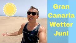 Temperaturen Gran Canaria Juni Wetter Maspalomas, Playa del Ingles