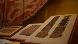 Conservation of a 12th-century textile