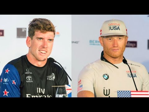 How rivals Peter Burling and Jimmy Spithill shaped America's Cup by Andy Green