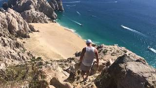 Cabo Mt Solmar to beach hike