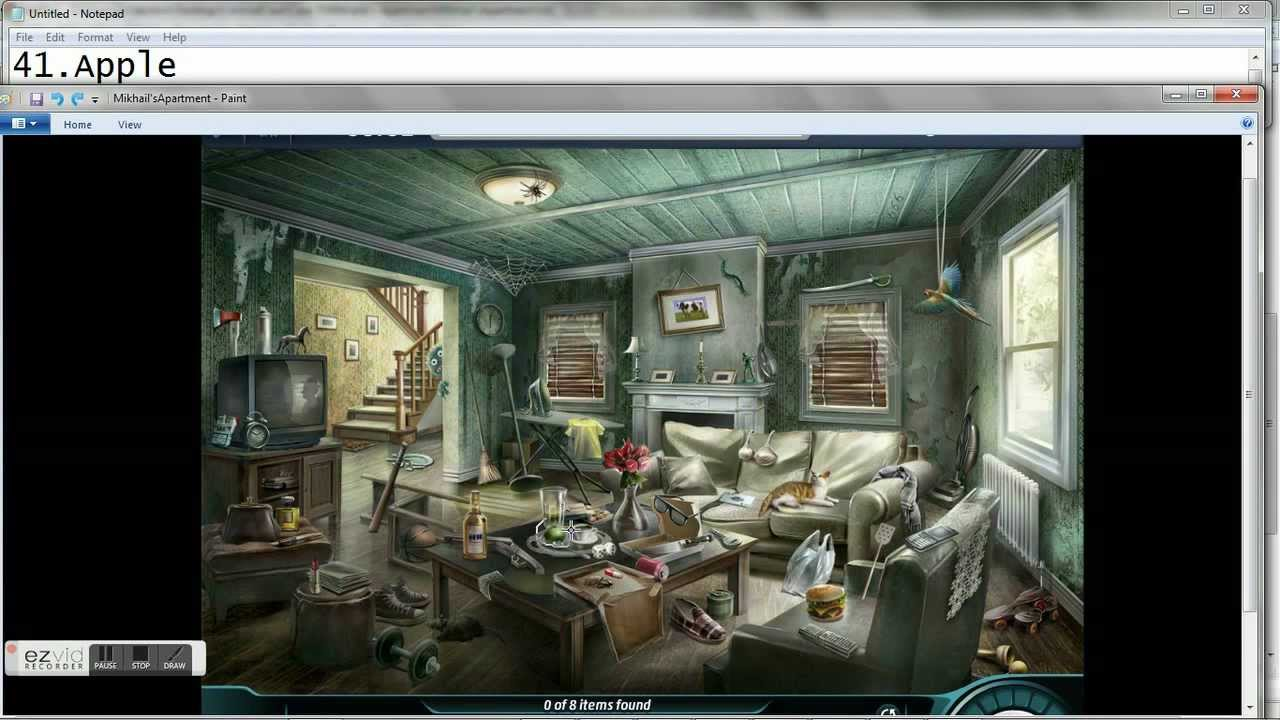 Criminal Case 5 Mikhails Apartment All Items