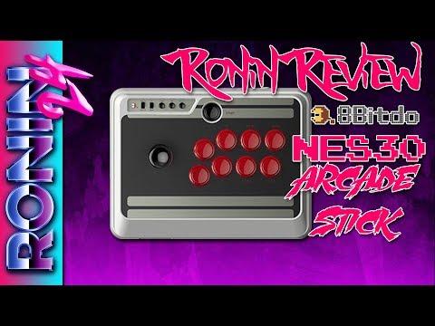 8BitDo NES30 Arcade Stick // Ronin Review