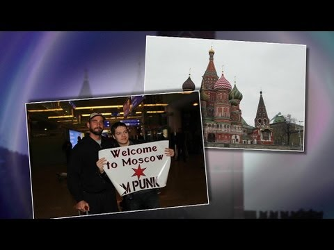 WWE Superstars make history in Moscow, Russia