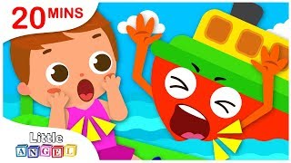 The Little Tiny Boat , No No, Apples and Bananas | Kids Songs by Little Angel