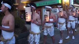 DontoSai (Festival Desnudo) Sendai,Japon. (1) どんと祭  裸参り