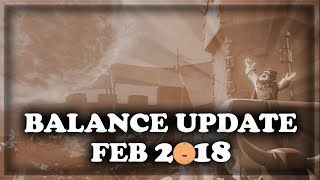 New Balance Changes February 2018 (02/12) | Clash Royale Update 🍊