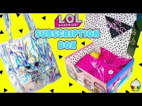 LOL Surprise Subscription Box #1 Summer Box EXCLUSIVE LOL Merch