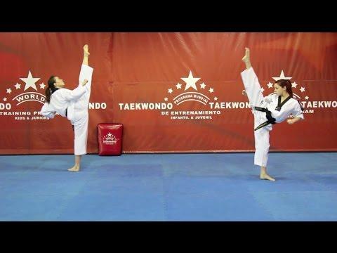 World Taekwondo Training Program DVD. No.1 Balance Training / English Language