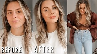 GET READY WITH ME - NEW BEAUTY   Fashion Influx