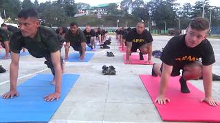 1-2 Stryker Brigade Combat Team with a Session of Yoga