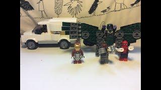 Лего Марвел супер герої/Людина-павук Повернення 76083/розпакування #8