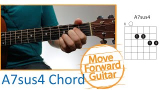 guitar chords for beginners a7sus4