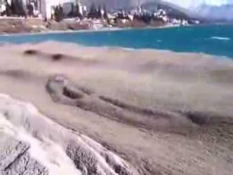 Amazing Sand Sea with beautiful sand waves !