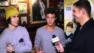 "Nash Grier and Cameron Dallas on Acting in ""The Outfield"""