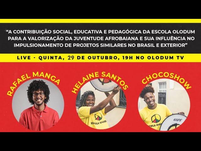 A Contribuição sócio, educativa e pedagógica da Escola Olodum, para a valorização da juventude